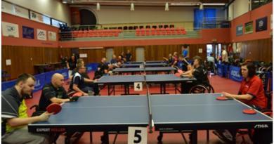 Středoevropská liga a ČP stolních tenistů v Hodoníně
