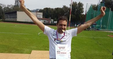 Atlet Martin Zach je Mistrem České republiky 2019