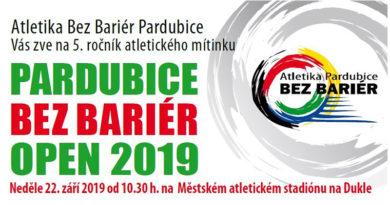 PARDUBICE BEZ BARIÉR OPEN 2019