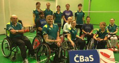 Para-badminton na MČR dospělých v Plzni