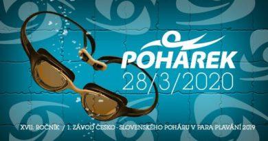 Česko-slovenský pohár v para plavání 2020 začíná v Sokolově