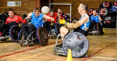 Národní liga ragby vozíčkářů odstartovala v Praze
