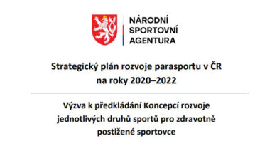 Národní sportovní agentura vyhlásila výzvu …